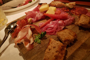 Antipasto at Cin Cin