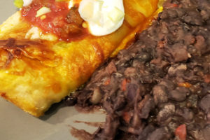 Butternut Squash Goat Cheese Enchiladas