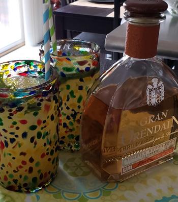Orange Cilantro Margarita
